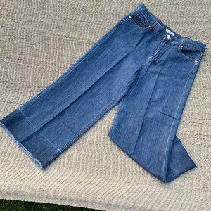 LOFT wide leg, cropped jeans, NWOT, 29/8